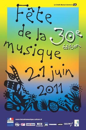 faites la fête  de la musique , c'est l'été .......... (2/6)
